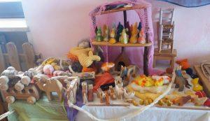 Asilo steineriano di Orbassano - Giochi di legno e lana